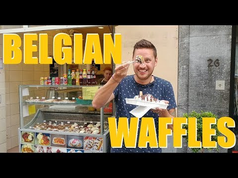 E12, Part 1: How to Waffle like a Belgian | Brussels, Belgium