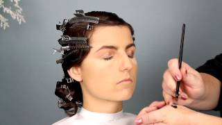 1920s Bridal Hair and Makeup Tutorial