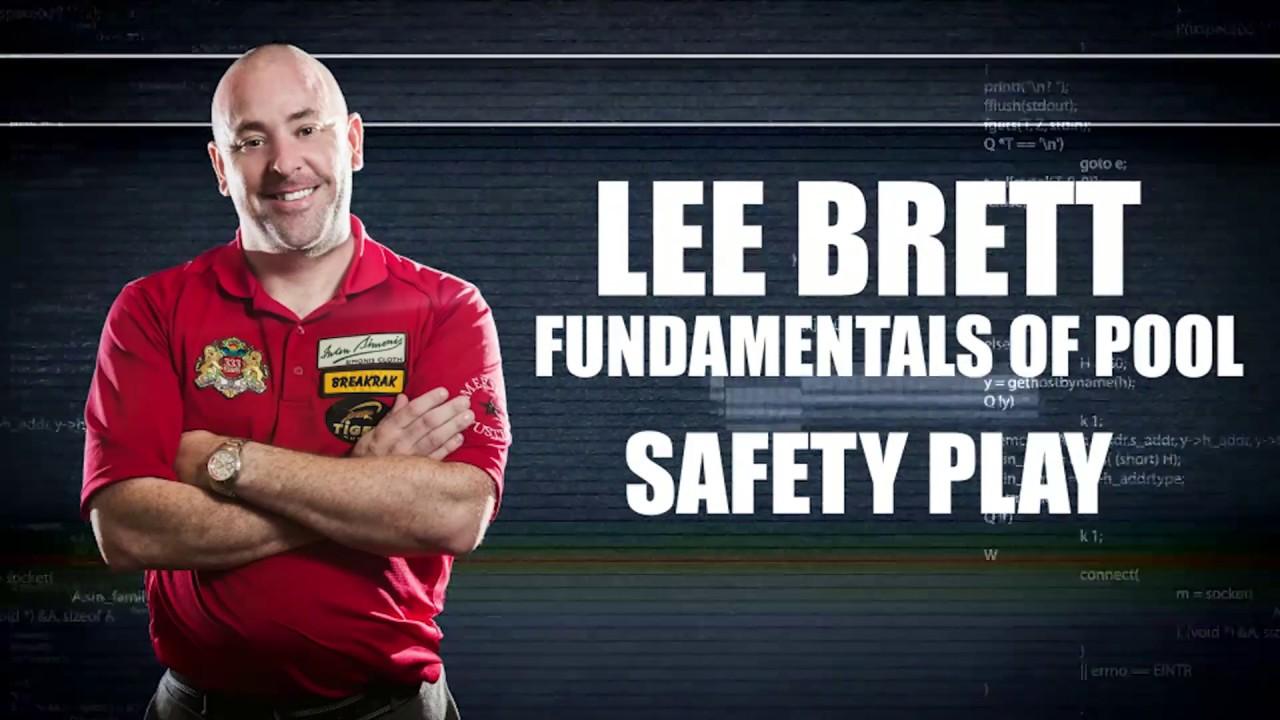 APA - Lee Brett Billiard Instruction Series - Pool Lesson 14 -  How to play Safeties