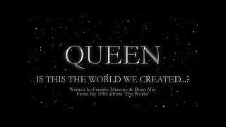 Watch Queen Is This The World We Created video