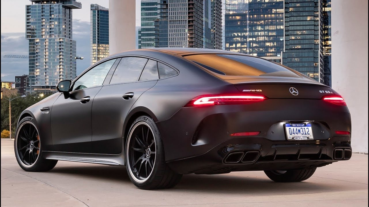 2019 Mercedes Amg Gt 63 S 4matic 4 Door Sports Car With High