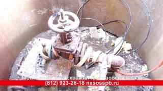 Демонтаж промышленного скважинного насоса Pedrollo 4SR спецтехникой. скважина в Лупполово(, 2017-03-18T21:03:18.000Z)