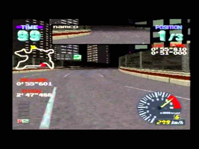 RIDGE RACER REVOLUTION Expert 2'47