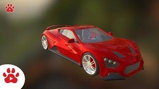 Zanvo Zuk Racing Yoko Zarooq Sand Race Zonda | Super Cars for Kids | #h Colour Song for Kids