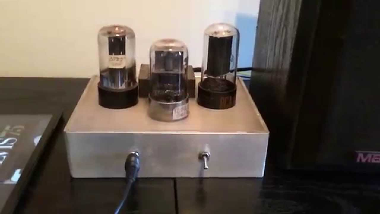 Easy Tube Amp 12sq7 50l6 And 35z5