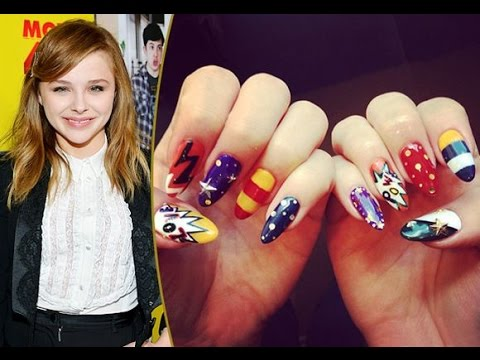 Amazing Celebrity Nail Art Tutorial 2017