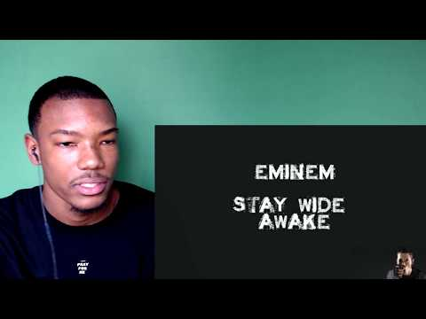 EMINEM STORYTELLING IS HAUNTING AND GREAT!!!  Eminem  Stay Wide Awake lyrics HD Reaction