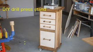 DIY drill press stand Part 1