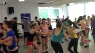 Riverdance Masterclass Day 4 - Warm up with Padraic Moyles