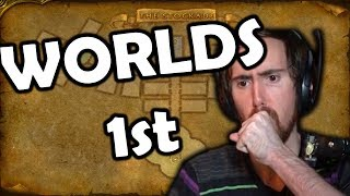 Worlds First Stockades Clear In Classic World of Warcraft With Asmongold & Esfand