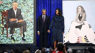 Le couple Obama en portraits