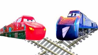 Video Cars Toon Red Truck Train VS Train Blue Car Kids Rhymes & Songs download MP3, 3GP, MP4, WEBM, AVI, FLV Januari 2018