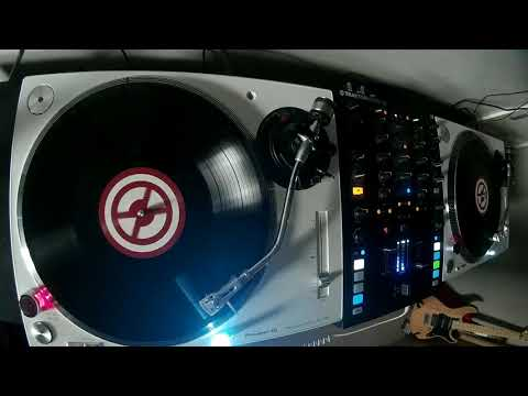 Pioneer PLX 500 Vinyl Turntable DVS Hard Trance Mix