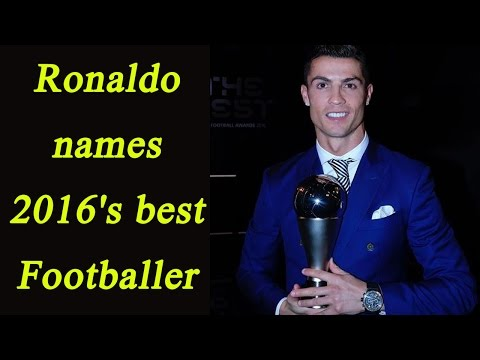 Cristiano Ronaldo names FIFA 2016's best Footballer, for the fourth time | Oneindia News