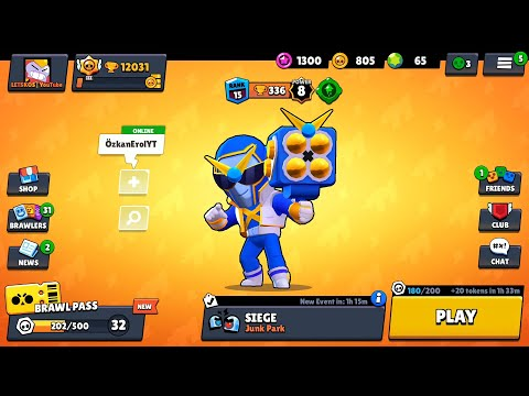 NOOB VS HACKER VS Pro Super Power Brock Brawler Android Gameplay |