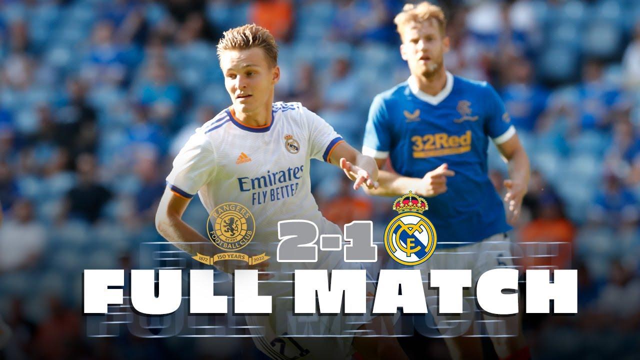 FULL MATCH   Rangers 🆚 Real Madrid   First pre-season friendly!
