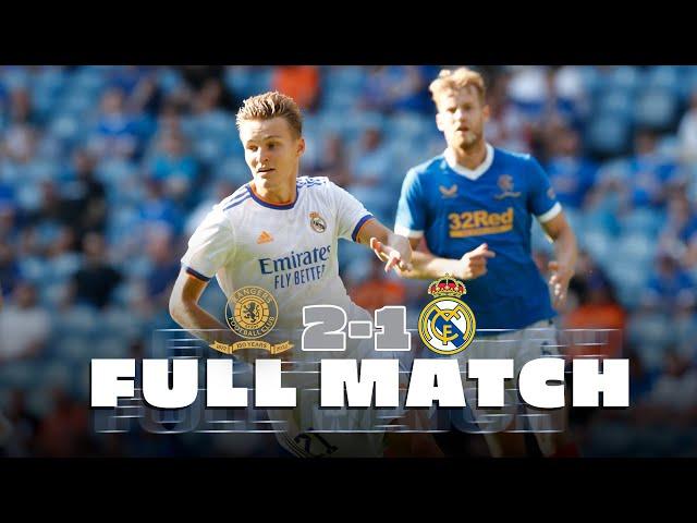 FULL MATCH | Rangers 🆚 Real Madrid | First pre-season friendly!