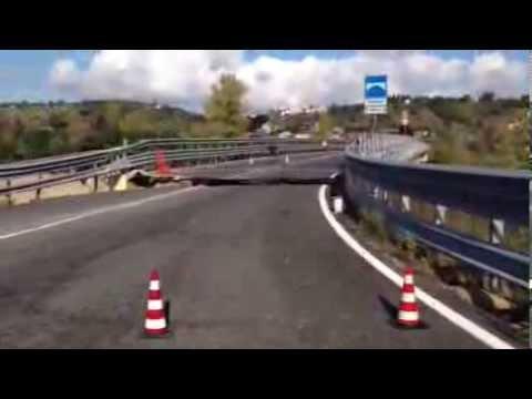 Crollo rampa Teramo-Mare a Bellante