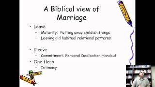 Session 2 Part 1: Premarital Counseling