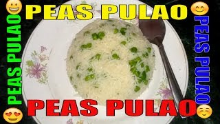 How to Make Green Peas Rice – Easy & Simple Cooking