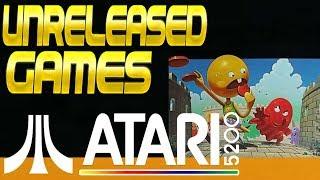 Unreleased Games for the Atari 5200