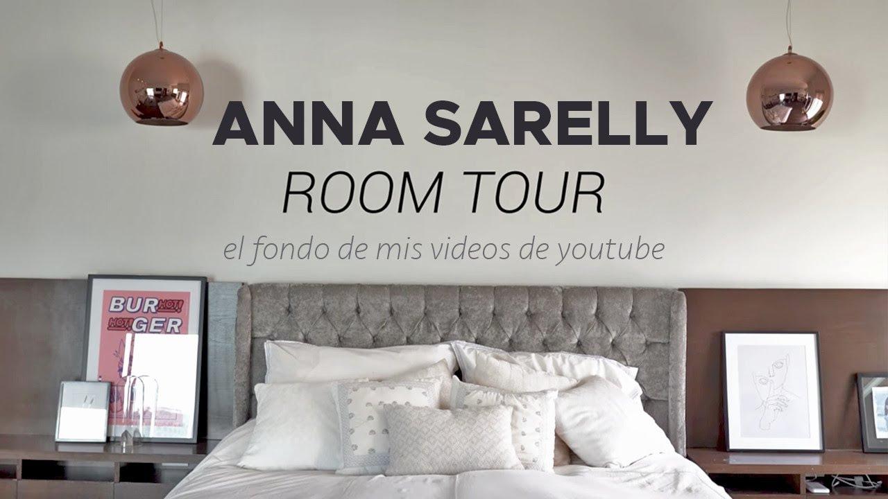 ROOM TOUR ALFIN haha el cuarto donde empecé a grabar mis videos de YOUTUBE | Anna Sarelly