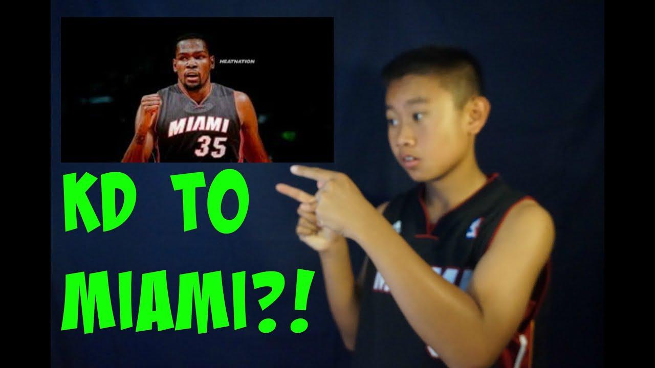 e93f11eb665 Kevin Durant To The Miami Heat ! - YouTube