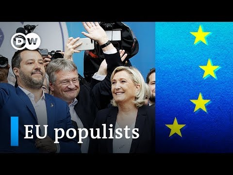 EU election: Who are the populists aiming to disrupt the EU? | DW News