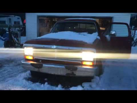 4x4 Dodge Ram with a 360 old cold start