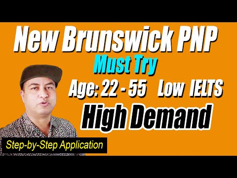 New Brunswick PNP Canada | Best PR Program for 2021 | Step-by-step guide