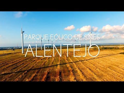 Parque Eólico de Sines - Vista Aérea (aerial view) @Alentejo - Portugal