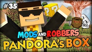 THE TROLL BOX?! - Minecraft Modded Cops and Robbers (Pandora