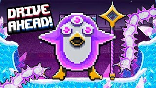 PENGUIN MONSTER! Defeated the BOSS and TOOK a New CAR in Drive Ahead