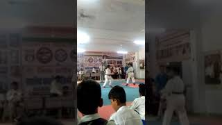 Achievers Martial Arts Academy (AMA) Anuj Goswami gold medalist gwalior govt district 2018