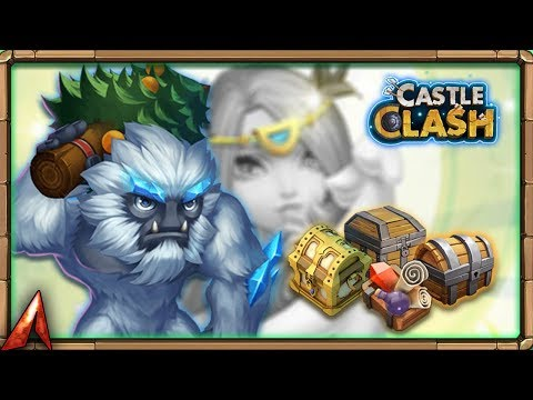 Rolling 15k F2P Gems For Sasquatch! Castle Clash