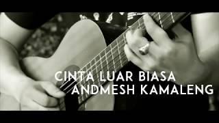 Andmesh Kamaleng - Cinta Luar Biasa ( Acoustic Karaoke / Backing Track )
