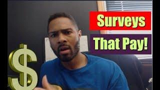 Get Paid To Take Surveys Online -  2 New Legit Paid Surveys Sites!!