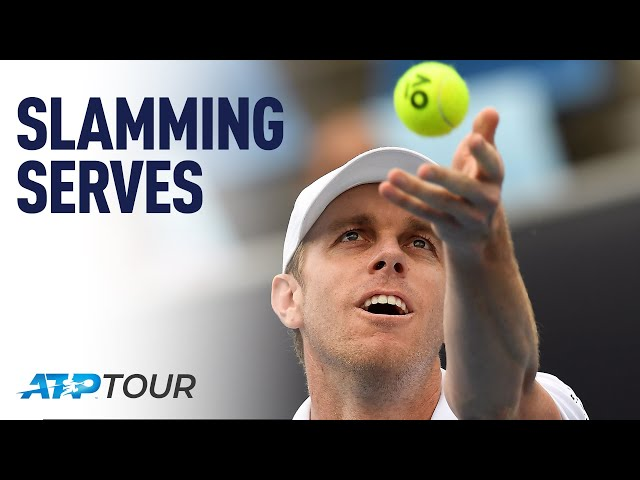 Improve Your Serve With Sam Querrey | MASTERCLASS | ATP