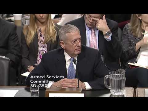 Sen. Cruz's Questions at Gen. Mattis Nomination Hearing