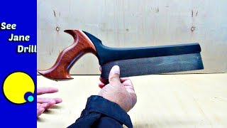 How to Make a Perfectly Straight Cut in Wood with a Hand Saw