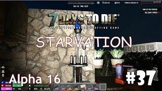 7 Days to Die (Alpha 16 + Starvation) #37 - Станок для производства патронов