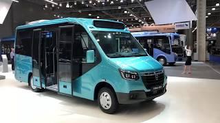 ГАЗ показал новое поколение маршруток такого ещё никто не делал
