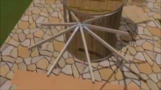 видео Как построить мини-баню своими руками на даче или дома