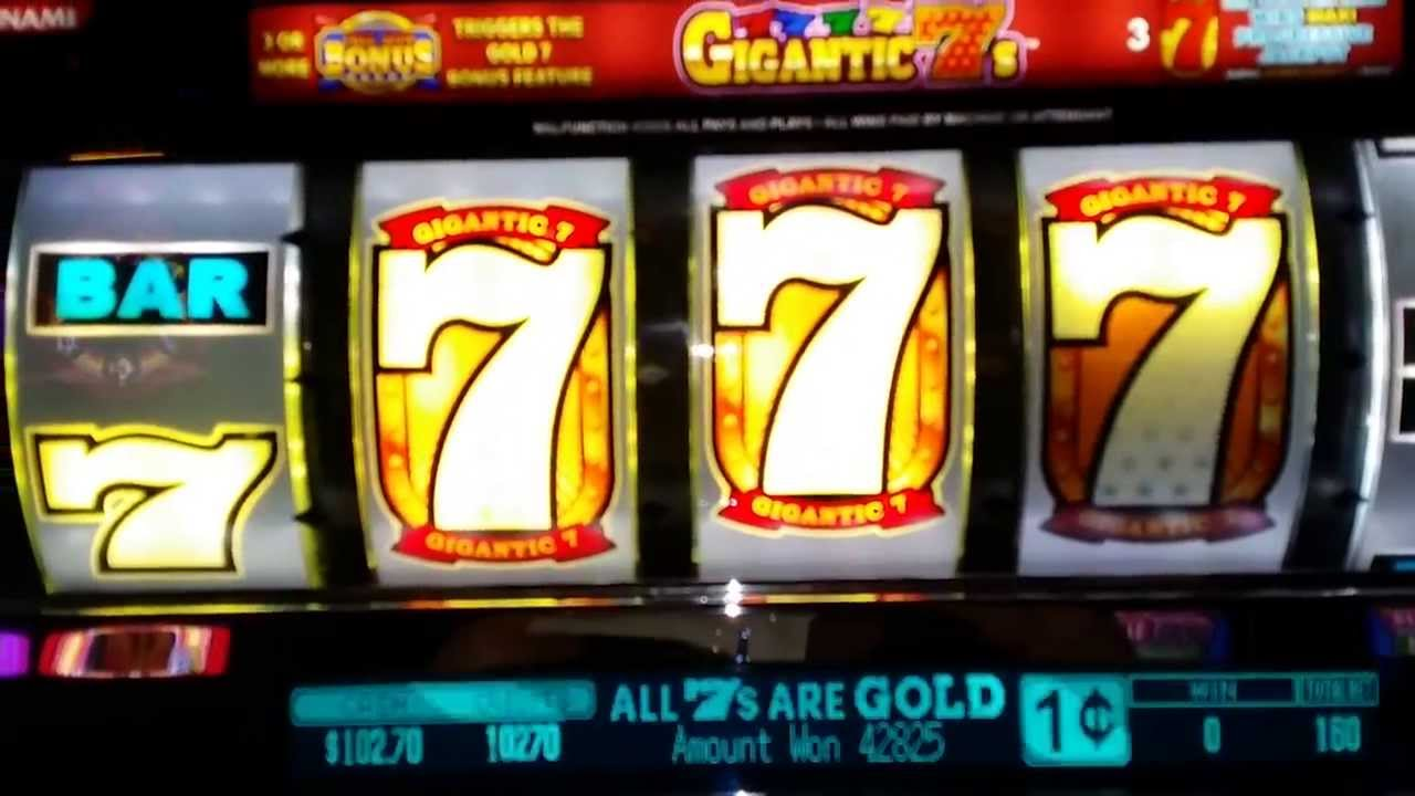 big win on slot machine