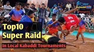 Top-10 Super Raid In Local Kabaddi Tournament