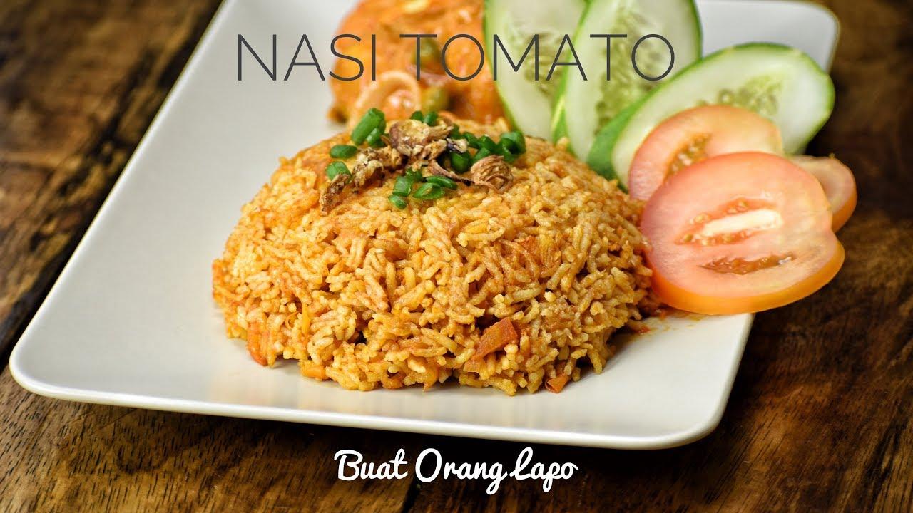 Nasi Tomato Tomato Rice Youtube
