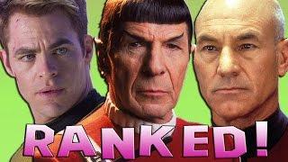 12 Star Trek Movies Ranked