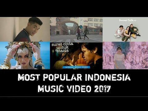 Most Popular Indonesian Music Videos 2017