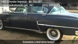 1953 Chrysler Imperial  - for sale in , NC 27603 #VNclassics