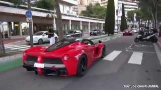 Ferrari LaFerrari   Amazing Accelerations in Monaco!